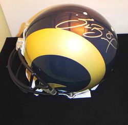 SAM BRADFORD SIGNED ROOKIE FULL SIZE PROLINE HELMET