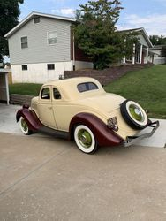 26.35 Ford Five Window Coupe