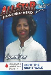Honored Hero Card