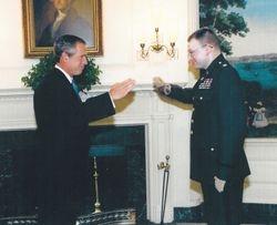 Senator Birdwell and President  Bush