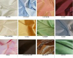 Faux Taffeta Silk Swatch