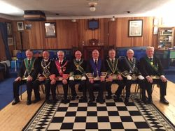 Visitation of Lodge Granite Union 480 who were accompanied by their RWPGM Bro John Henderson on Wednesday 19 October 2016