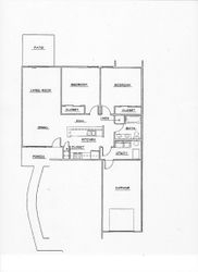 Ground level floor plans