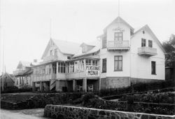 Strand Hotell (Pensionat Mona) 1935