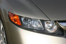 Drivers side headlight