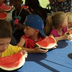 WATERMELON-EATING CONTEST!