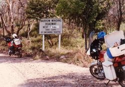 On the road to Mt Kaputar