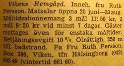 Vikens hemgard 1960