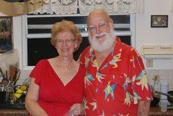 Mary Ann and Joe at Joe's 80th birthday party