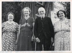 Franklin Snare and his Daughters