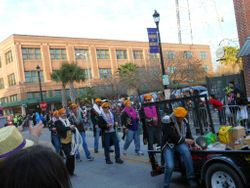 Fat Tuesday parade