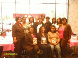Savvy Members & Author Monica Carter Tagore'