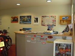 Reception Desk at HMD