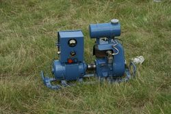 A small stationary engine