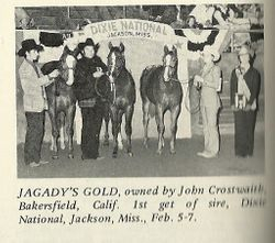 Get of Sire, Jagadys Gold