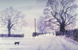 Winter Landscape, Capel