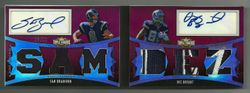 2010 Triple Threads Dez Bryant Sam Bradford Patch Dual Autograph Booklet #8/10