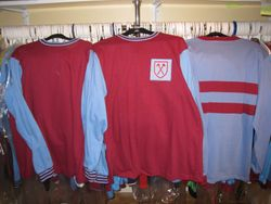 Classic 60's and 1970's home and away Bukta