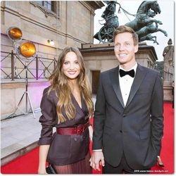 Ester and Tomas Berdych
