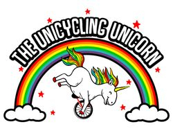 The Unicycling Unicorn Logo