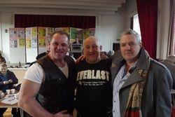 Darren Ward, Ray Robinson, Peter Thompson
