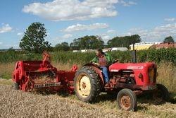 David Brown Tractor & Baler