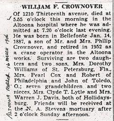 Crownover, William F. 1956