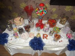 Candy table hire,