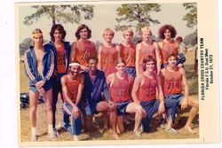 UF 1973 Cross Country Team