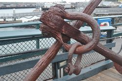 Rusted Anchor, Maritime National Historical Park