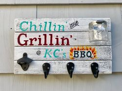 Chillin and Grillin sign
