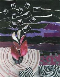 Creative Process - Art Collage, 11x14, Original Sold