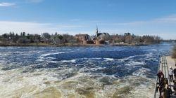 Dam of Lake Madawaska