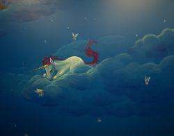 HEAVENLY  luna the unicorn