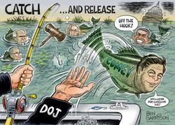IS COMEY OFF THE HOOK? OR DOES BARR HAVE SOMETHING NEW IN THE TACKLE BOX TO REEL IN THE SANCTIMONIOUS FBI DIRECTOR?