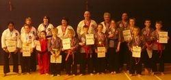 Presentation of Medals - East Meets West Torunament - October 2013