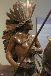 Proctor, Indian Warrior, 1898, Denver