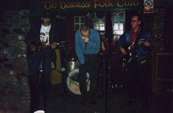 Carl Wyatt, Noel Redding (ex Jimmy Hendrix band) and Gary on Harmonica