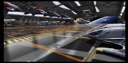 Upeer shuttle bay interior