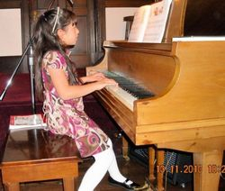 Elizabeth at recital - 2010