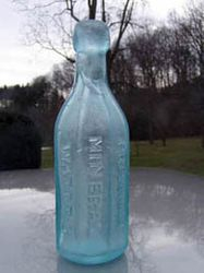 Eight sided Seitz & Bro Mineral  Water.1870s