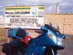 Visiting Cape Leeuwin during at the 1998 AGM Bunbury - Mar 1998