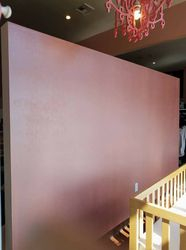 Pink pearl focal wall for Sugar Babies in Sumner, WA