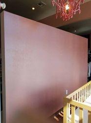 Pink pearl focal wall for Sugar Babies in Sumner, WA
