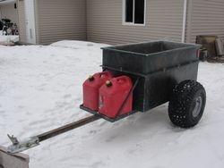 All Aluminum ATV Meat Wagon