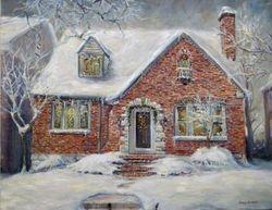 Dr Kimura Wintery House