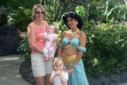 Meg and Princess Jasmine.