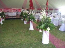 Dome tent wedding