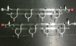 Custom Double Manifold with Thermo couple Adapters