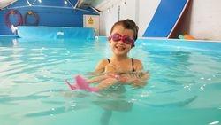 Sophia Swimming